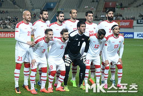 시리아는 2018 러시아월드컵 아시아지역 예선 플레이오프에 올라있다. 사진=천정환 기자