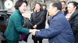김정숙 여사, `베이징 올림픽 마스코트 총괄` 한메이린과 ...