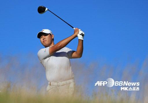 김시우가 PGA 투어 센트리 토너먼트 오브 챔피언스 2라운드에서 공동 8위가 됐다. 사진=AFPBBNEWS=News1