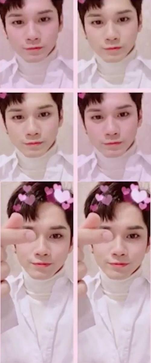 워너원 옹성우 발렌타인데이 사진=워너원 공식 SNS