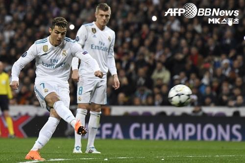 레알 마드리드가 파리 생제르망을 꺾고 챔피언스리그 8강 진출 청신호를 켰다. 사진=AFPBBNews=News1