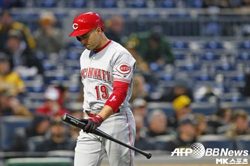 조이 보토는 캐나다 야구를 공개적으로 비하했다 곤욕을 치렀다. 사진=ⓒAFPBBNews = News1