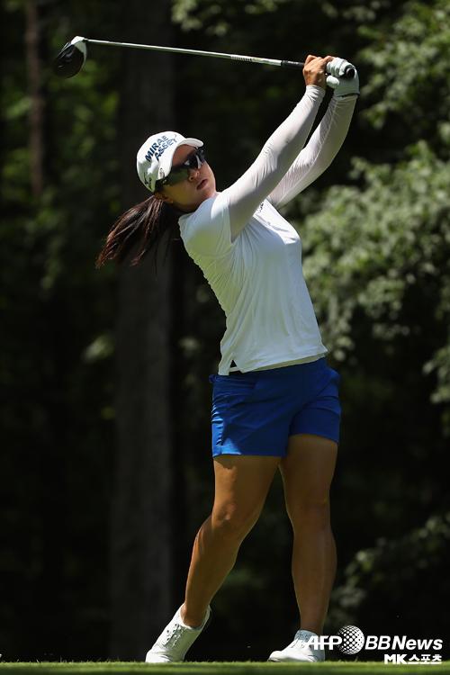 김세영이 LPGA 투어 숍라이트 2라운드에서 공동 선두에 올랐다. 사진=AFPBBNEWS=News1
