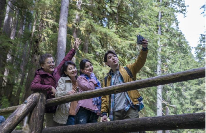 `가족愛발견` CF로 소개된 시애틀 올림픽국립공원 모습 [사진제공 = 하나투어]