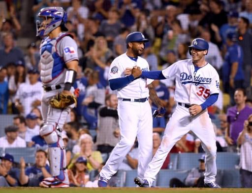 텍사스는 다저스 원정 첫 경기에서 참패를 당했다. 사진(美 로스앤젤레스)=ⓒAFPBBNews = News1