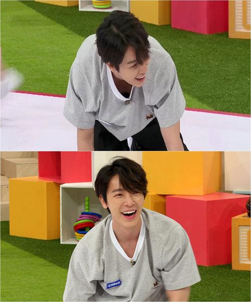 '슈퍼TV 2' 동해 사진=XtvN 'i돌아이어티 슈퍼TV 2'