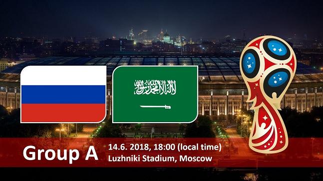 러시아-사우디는 2018월드컵 개막전이자 A조 1라운드 경기다.