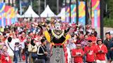 인도네시아 공연단, 아시안게임 개막식을 앞두고! [MK포토]
