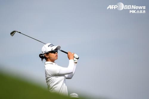 김세영(사진)이 에비앙 챔피언십 대회를 2위로 마감했다. 사진=AFPBBNews=News1