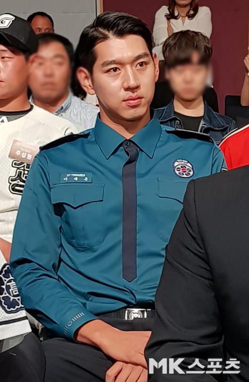 2019 신인 2차드래프트에서 전체 1순위로 kt 유니폼을 입게 된 이대은. 사진=한이정 기자