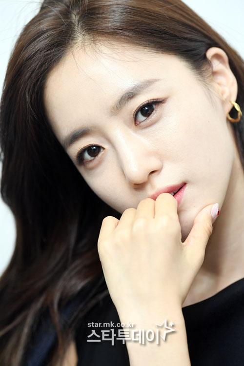 함은정은 `러블리 호러블리` 박시후 송지효 최여진 등에게 고마워했다. 사진|유용석 기자