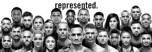 '써커펀치 엔터테인먼트'는 맥스 홀러웨이(가운데) 등 UFC 전·현직 챔피언 3명을 보유한 미국 종합격투기 에이전시다. 한국 단체 TFC의 초대 여성 스트로급 챔피언을 지내고 UF...