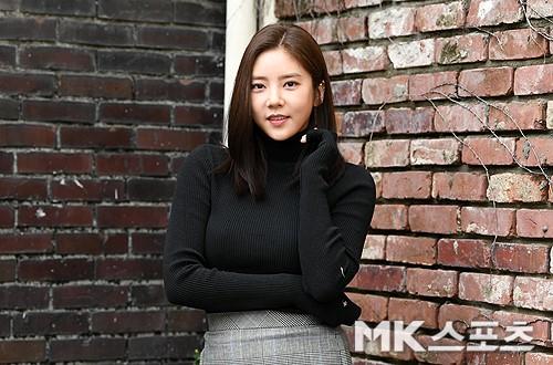 최근 영화 '배반의 장미'에 출연한 손담비가 MBN스타와 인터뷰를 진행했다. 사진=MK스포츠 천정환 기자