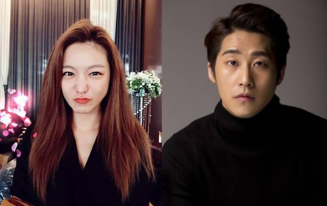 신소율(왼쪽)이 공개 연애중인 남자친구 김지철에 대한 애정을 드러냈다. 사진|신소율 김지철 SNS