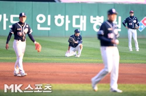 두산은 한국시리즈 5경기에서 실책 7개를 기록했다. 사진(인천)=천정환 기자
