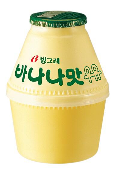 바나나맛우유. [사진 제공 = 빙그레]