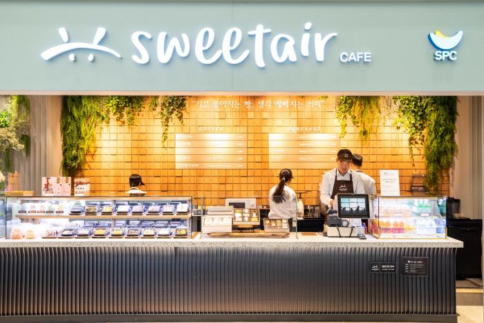 SPC그룹이 인천공항에 장애인 카페 스윗에어를 오픈했다. [사진제공 = SPC그룹]