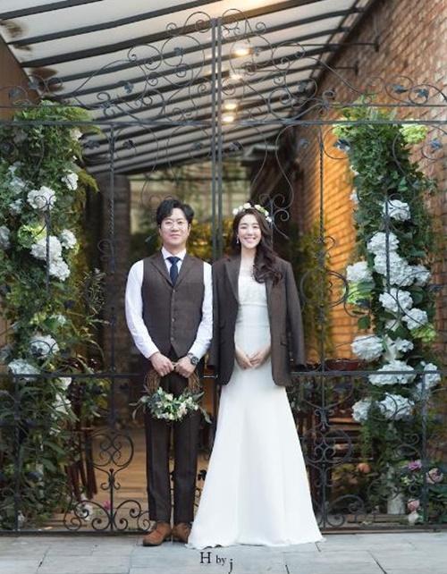 황성진 손정애 결혼 사진=어반 스튜디오