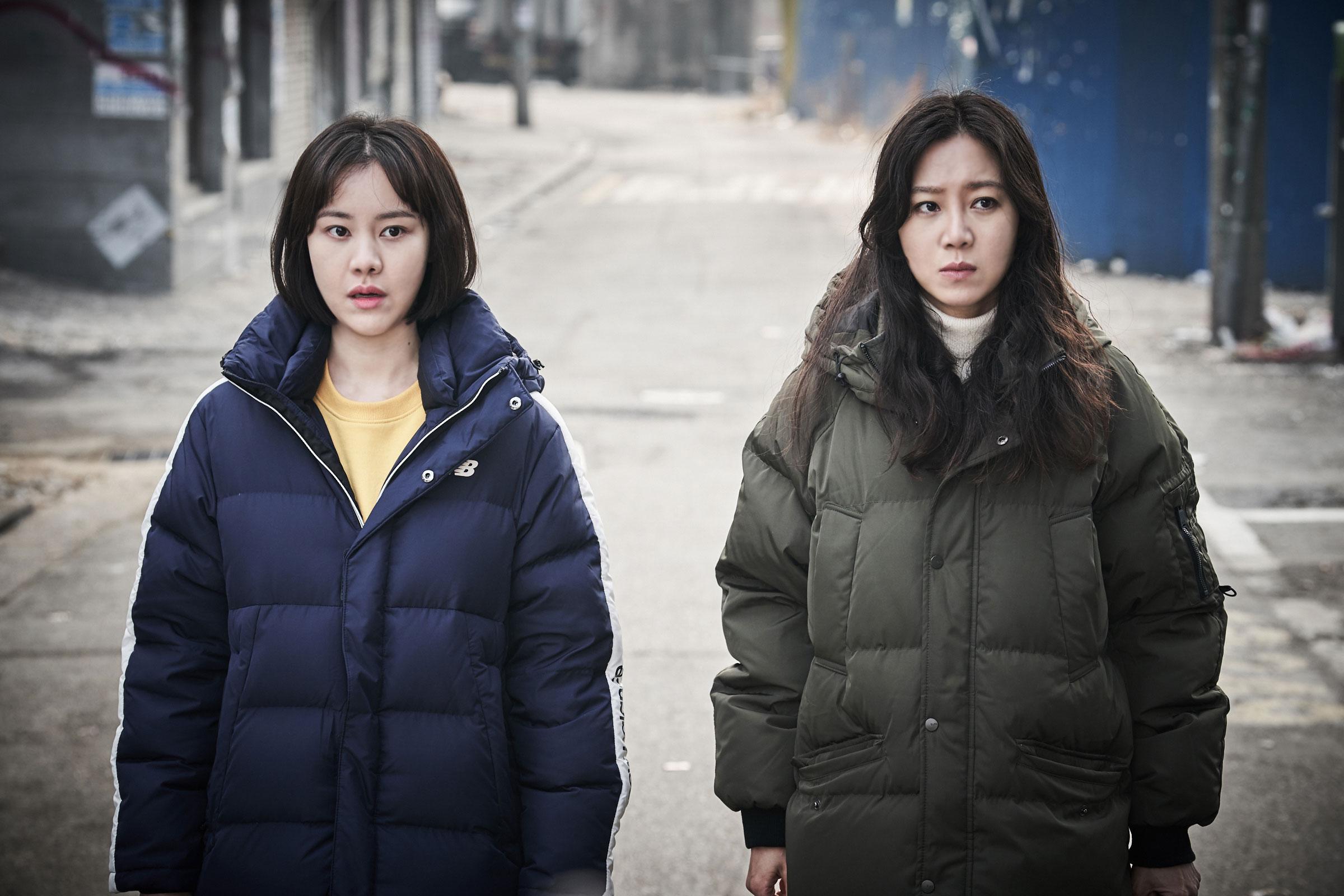 `도어락`에서 호흡을 맞춘 김효진(왼쪽), 공효진. 제공|스틸컷