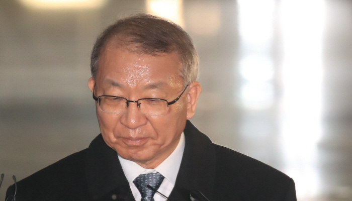 조사 마친 양승태 전 대법원장 [사진출처 = 연합뉴스]