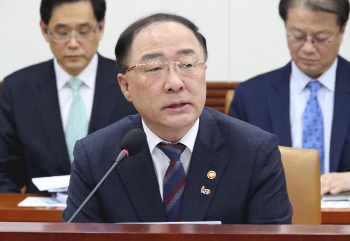 경제활력대책회의서 발언하는 홍남기 부총리 [사진출처 = 연합뉴스]
