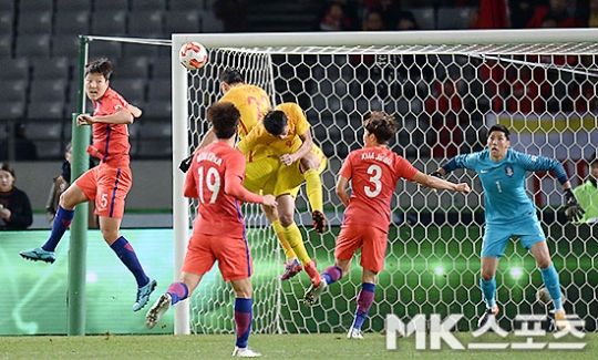한국과 중국의 2023 아시안컵 유치 경쟁은 끝났다. 사진=김영구 기자