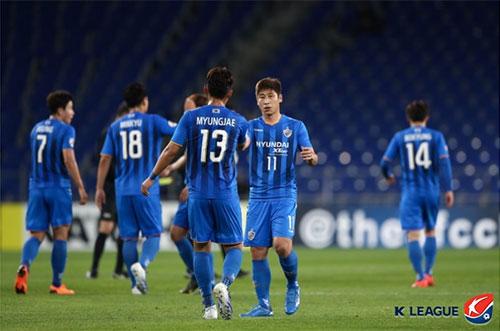 K리그1 선두 울산 현대는 AFC 챔피언스리그 16강에서 우라와 레드와 맞붙는다. 사진=한국프로축구연맹 제공
