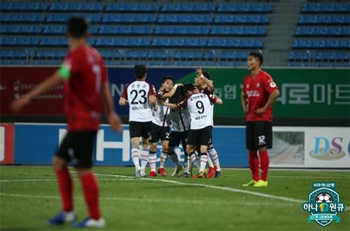서울은 19일 상주를 3-1로 꺾고 K리그1 3위로 점프했다. 사진=한국프로축구연맹 제공