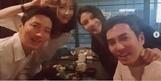 주상욱♥차예련, '부부의 날' 맞아 인교진♥소이현 부부와 회동