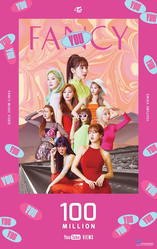 트와이스, 'FANCY' MV 1억뷰 돌파 사진=JYP엔터테인먼트