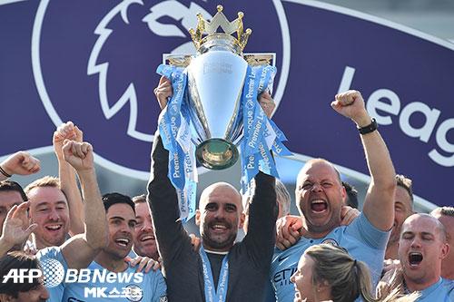 맨체스터 시티는 2019-20시즌 프리미어리그(EPL)에서 3연패에 성공할까. 사진=ⓒAFPBBNews = News1