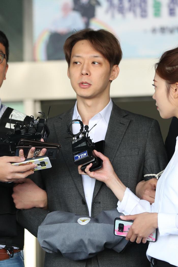 마약 혐의 박유천, 검찰 송치 [사진 = 연합뉴스]