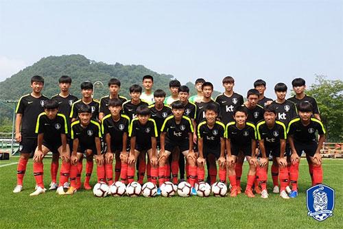 대한민국 남자축구 U-15 대표팀이 미얀마 U-16 국제축구대회에 참가한다. 사진=대한축구협회 제공