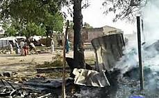 나이지리아, 난민촌 오폭 사고…100여 명 사망