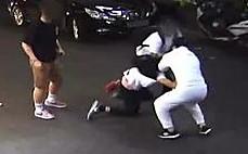 행인 폭행한 미군 자녀…말리던 택시기사도 때려