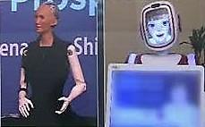 사회 보고 대화하고… 척척박사 로봇 등장