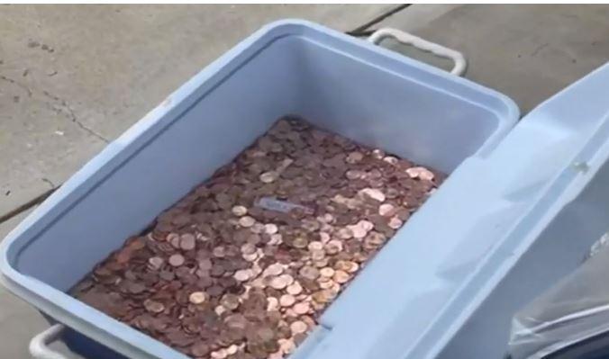 에이버리 아버지가 버리고 간 8만 개의 동전 / 사진=CNN
