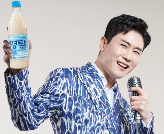 Singer Young-tak / Photo = Captured from Yecheon Brewery's Instagram account