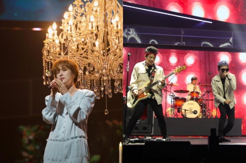 오늘 밤 11시에 방송되는 MBN '코리안 페스티벌 – 재외동포가요제(이하 '재외동포가요제')'의 축하무대를 거미와 크라잉넛이 꾸몄다. 왼쪽이 거미, 오른쪽이 크라잉넛....