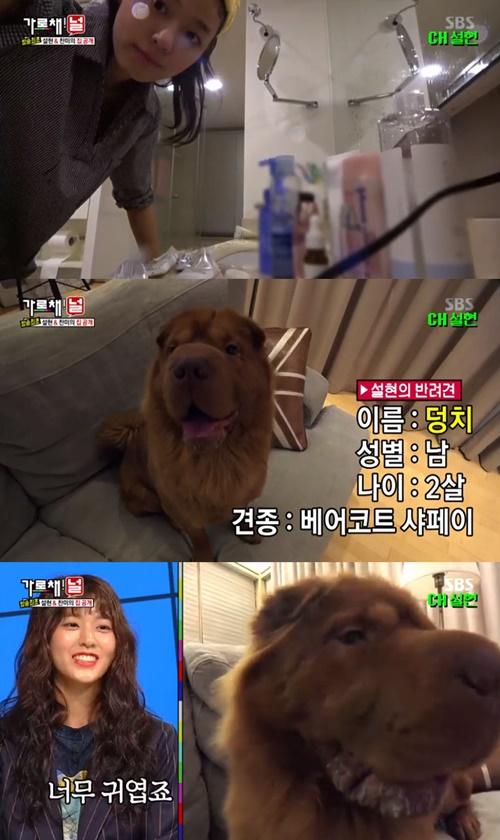 설현 '가로채널' 사진=SBS '가로채널' 캡처