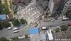 [영상] 한순간에 7층 아파트 '와르르'…3명 숨져