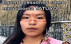 아마존 원주민 여성, 틱톡 스타 등극…